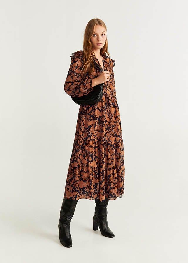 MANGO מחיר שמלה 299.90 שח צילום יחצ חול 53015749