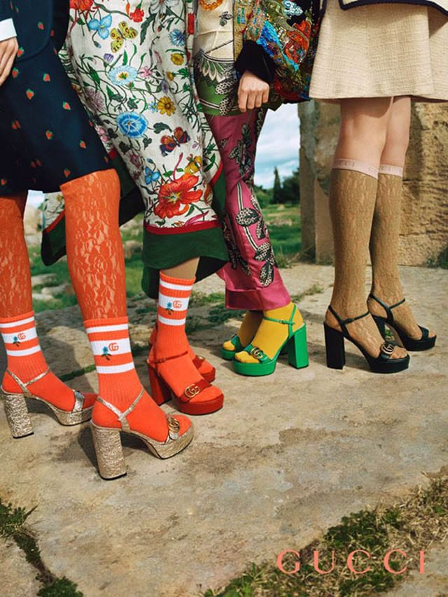 The most recognizable Gucci lines are once again updated in a more modern interpretatio