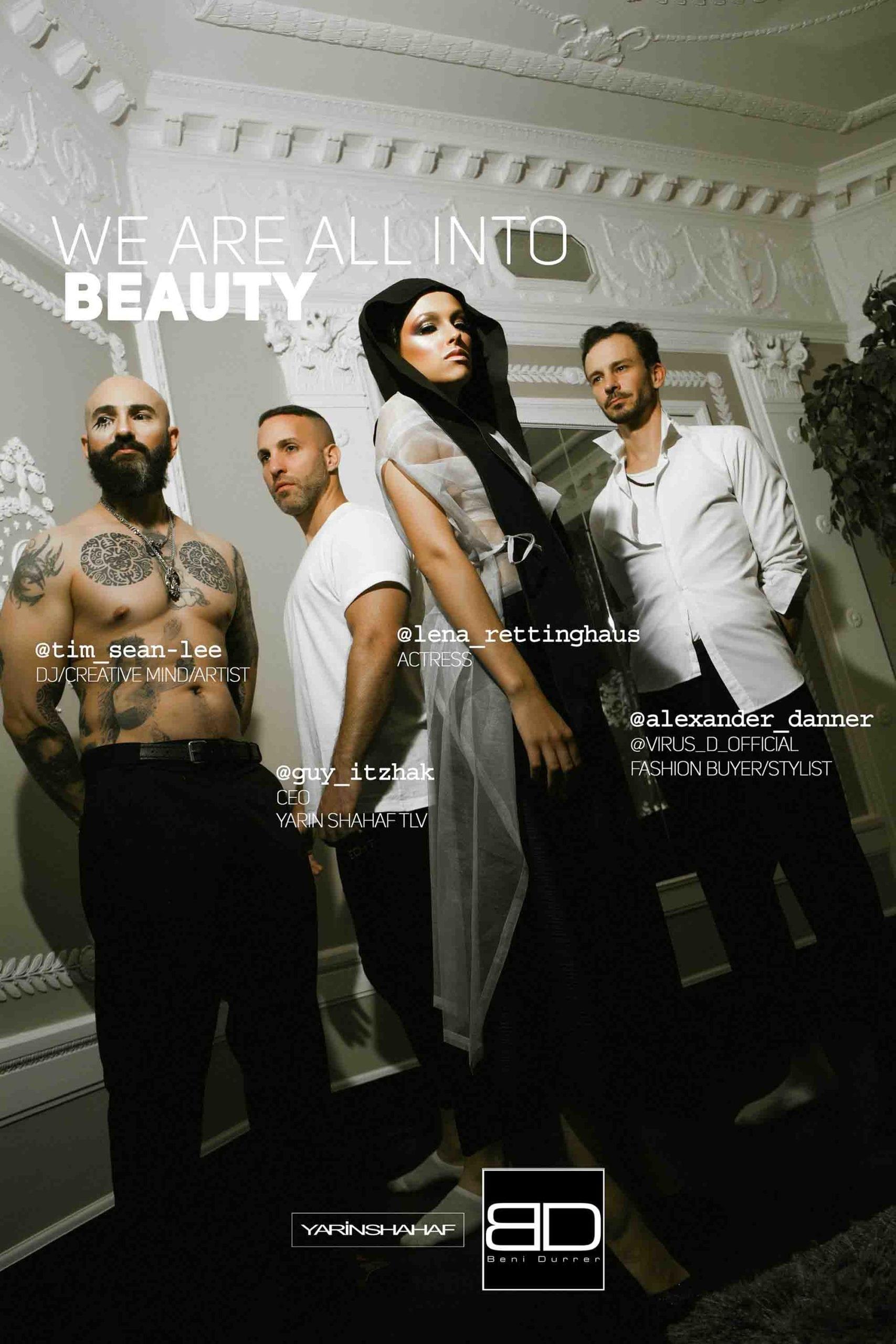 Beni Durrer, Yarin Shahaf, איפור, מגזין אופנה - 2