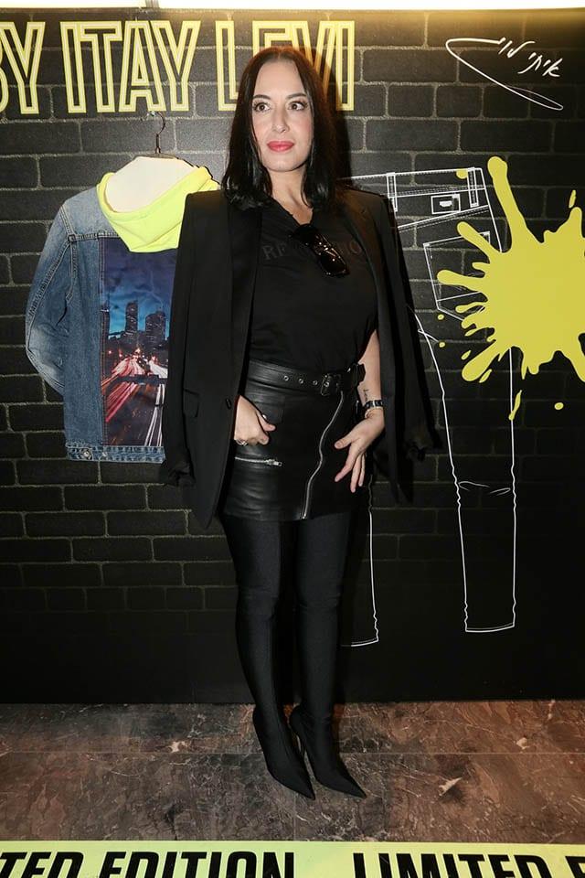 מאיה בוסקילה באירוע של לי קופר צילום אמיר מאירי, מגזין אופנה