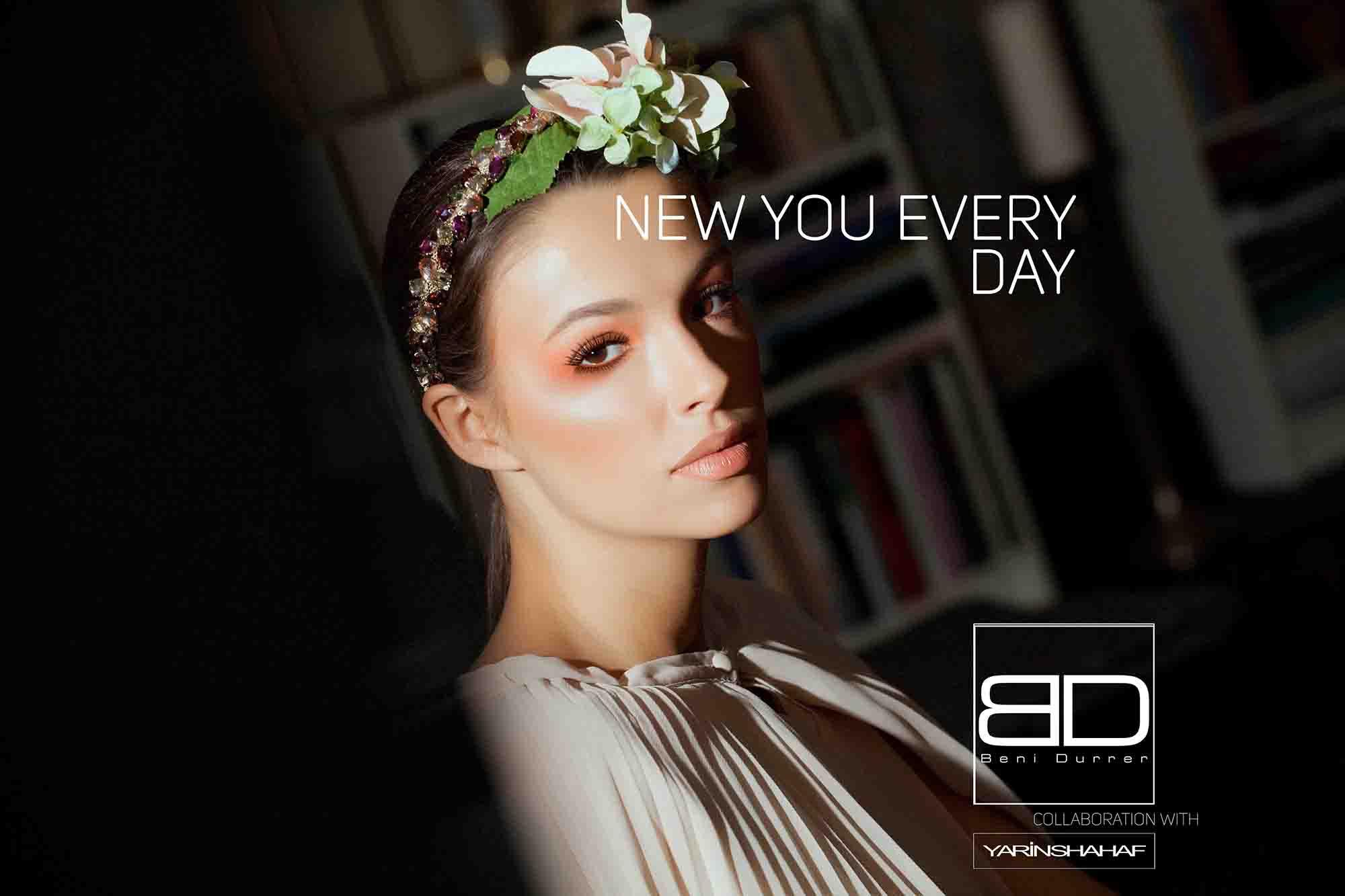 Beni Durrer, Yarin Shahaf, איפור, מגזין אופנה - 1