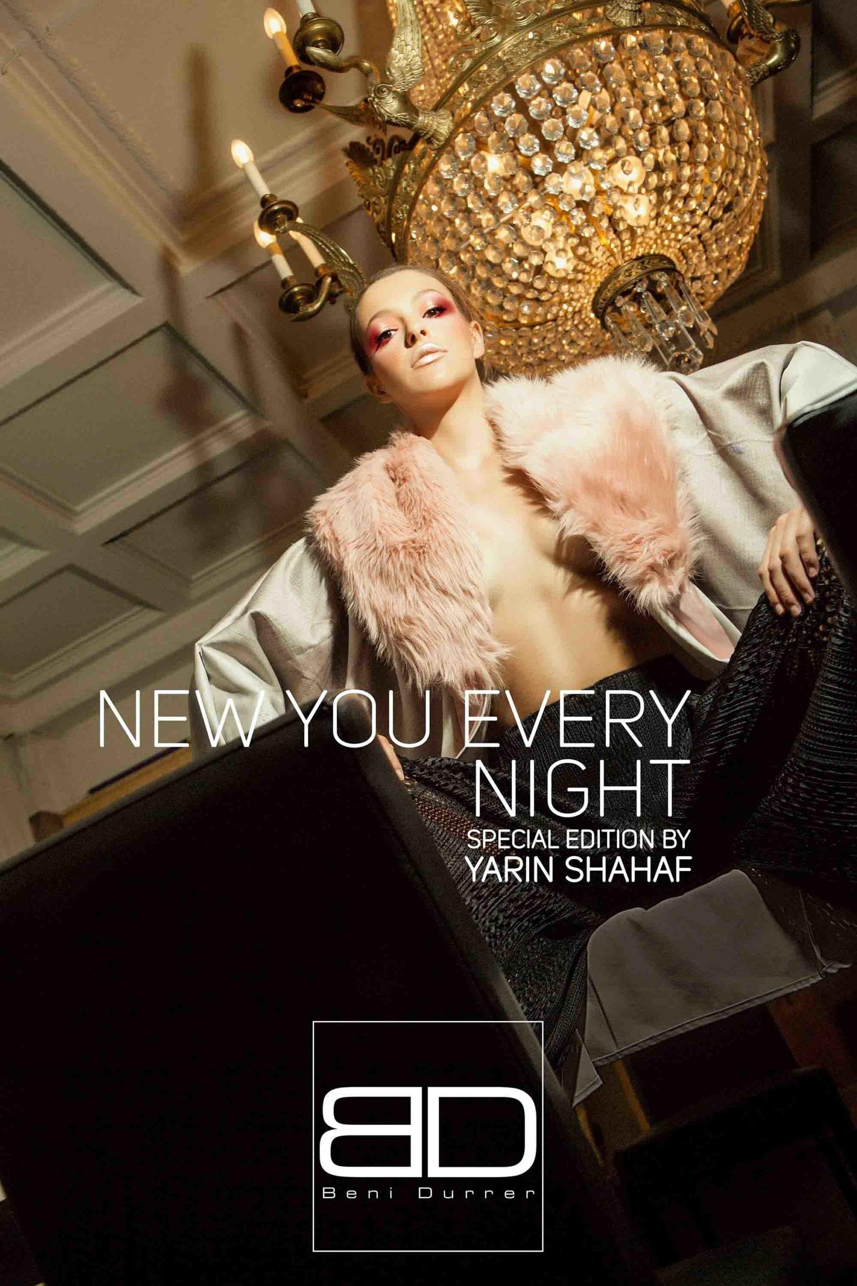 Beni Durrer, Yarin Shahaf, איפור, מגזין אופנה - 6