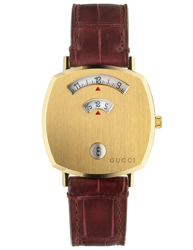שעון גוצ'י מדגם גריפ, מחיר 5900 שח, צילום יחצ חול, חדשות אופנה