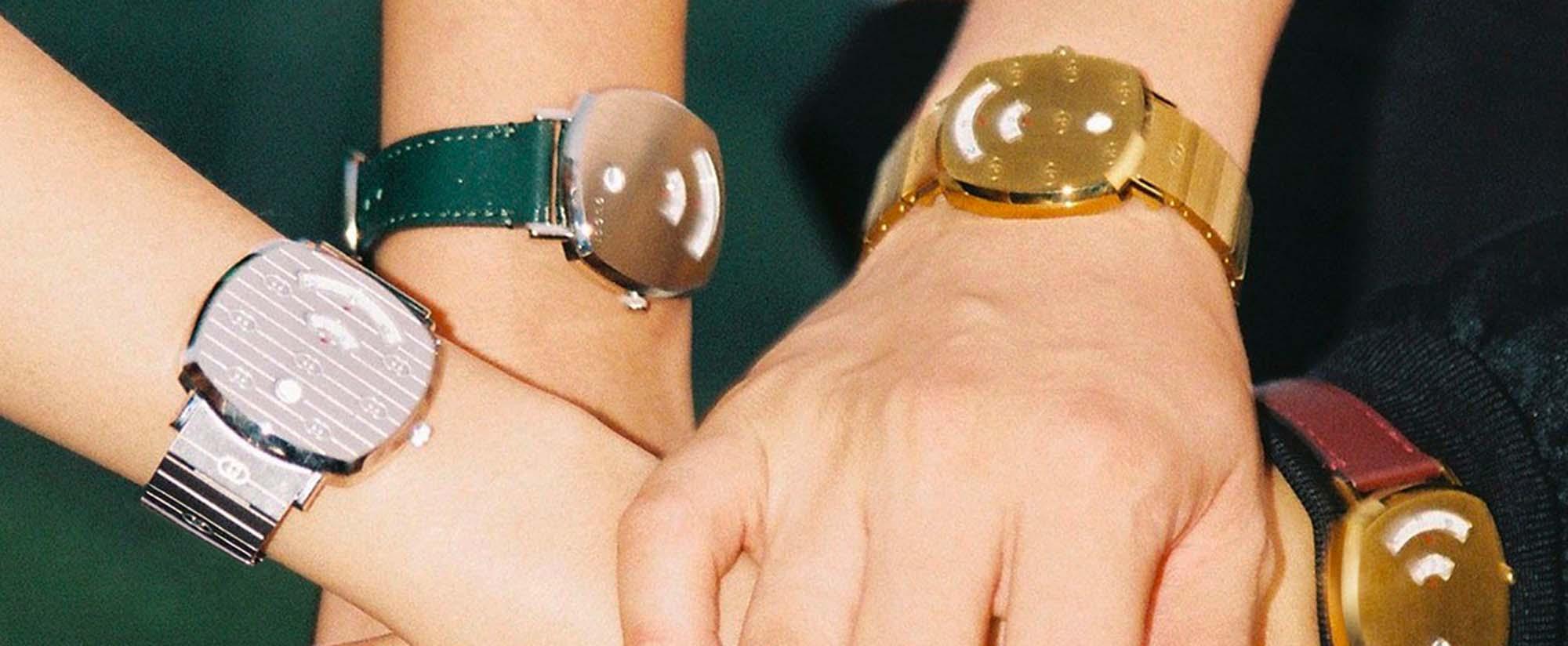 שעון גוצ'י מדגם גריפ צילום יחצ, כתבות אופנה חול