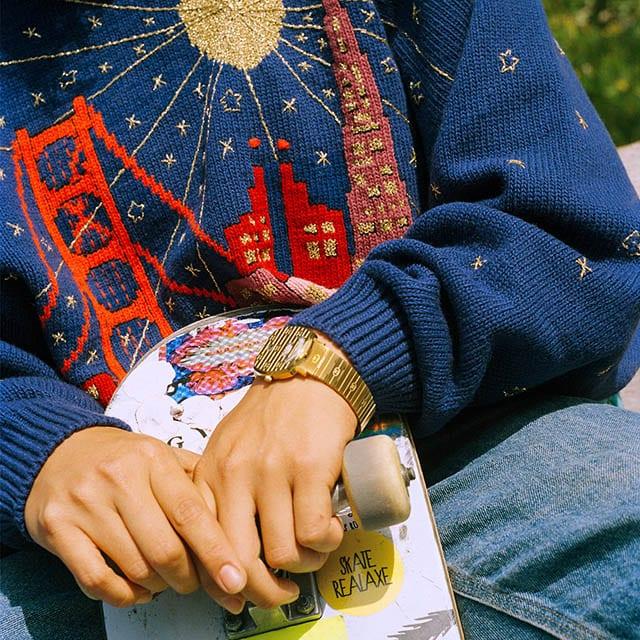 שעוני גוצ'י מדגם גריפ, צילום יחצ חול, חדשות אופנה