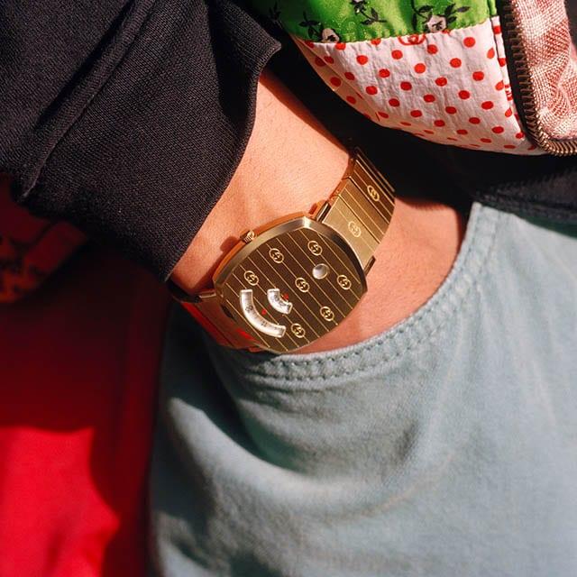 שעוני גוצ'י מדגם גריפ, צילום יחצ חול, חדשות האופנה
