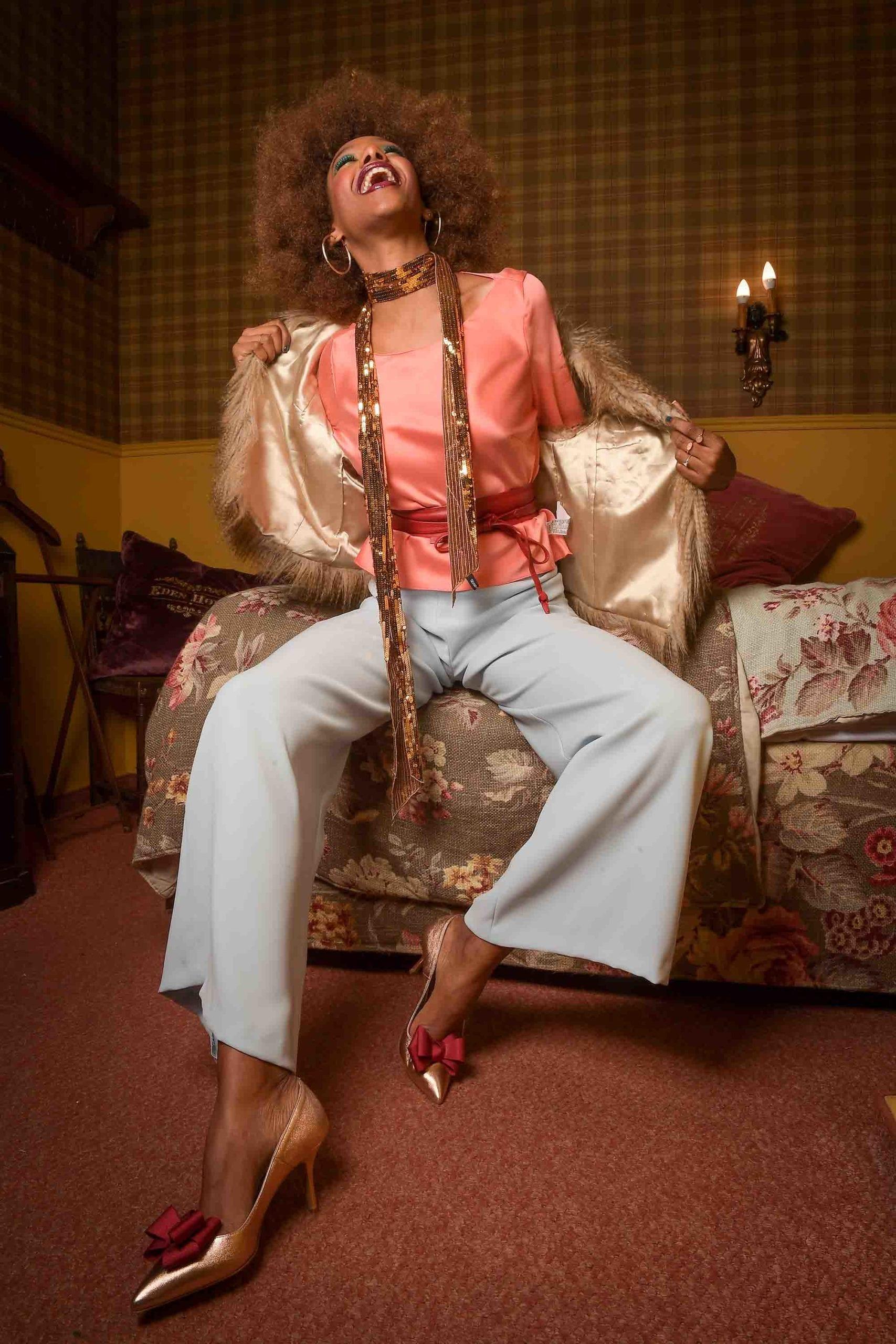 צילום: אילן סימן טוב סטיילינג: קסניה רויטבורג איפור: דידי פז עיצוב שיער: שרון פור דוגמנית: מזל מרשה ל-MC2 עיצוב אופנה: יובל רביד - כיכר המדינה, הפקות אופנה - 82