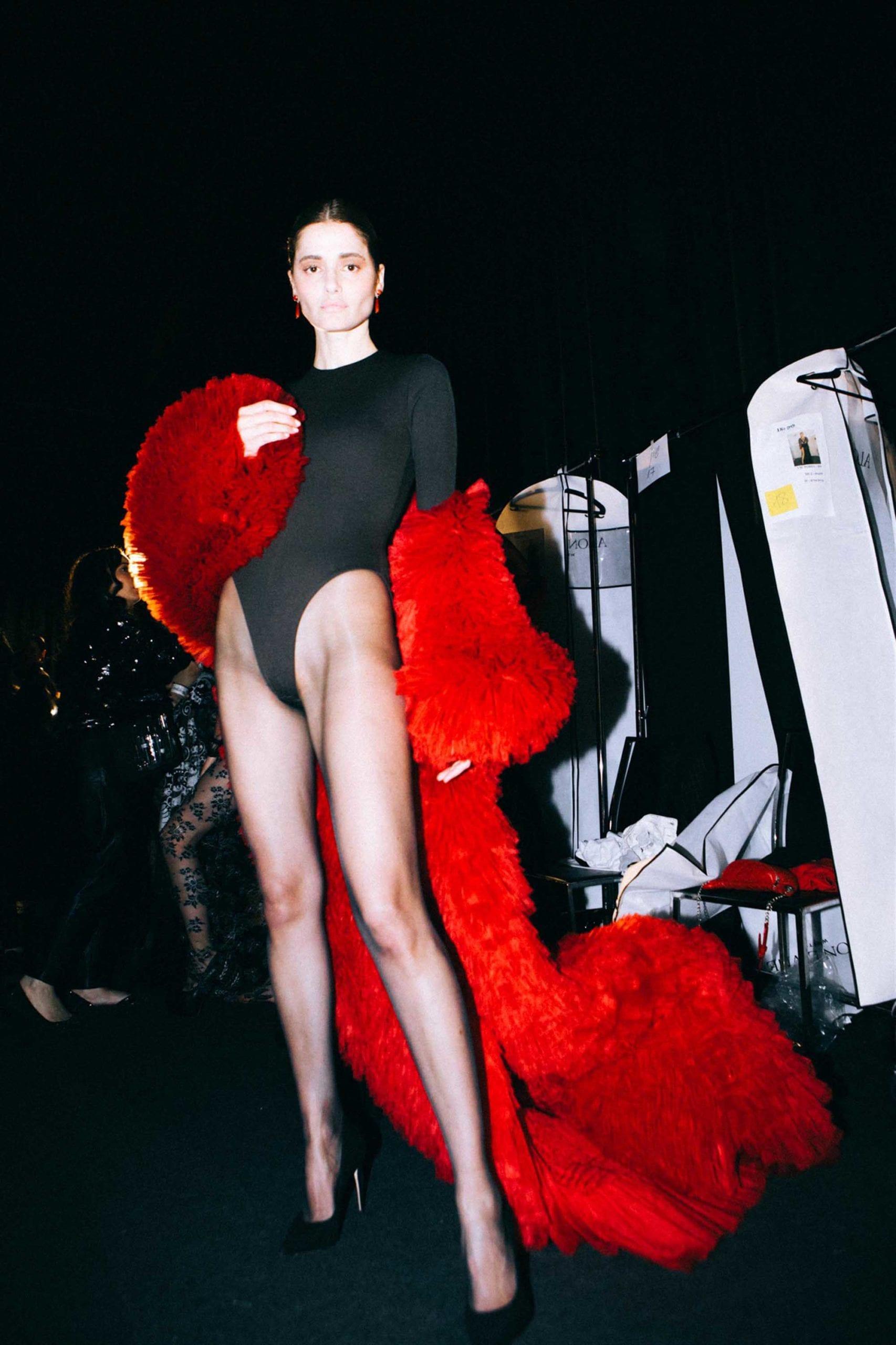 אלון ליבנה שבוע האופנה 2019 צילום עדי סגל, מגזין אופנה