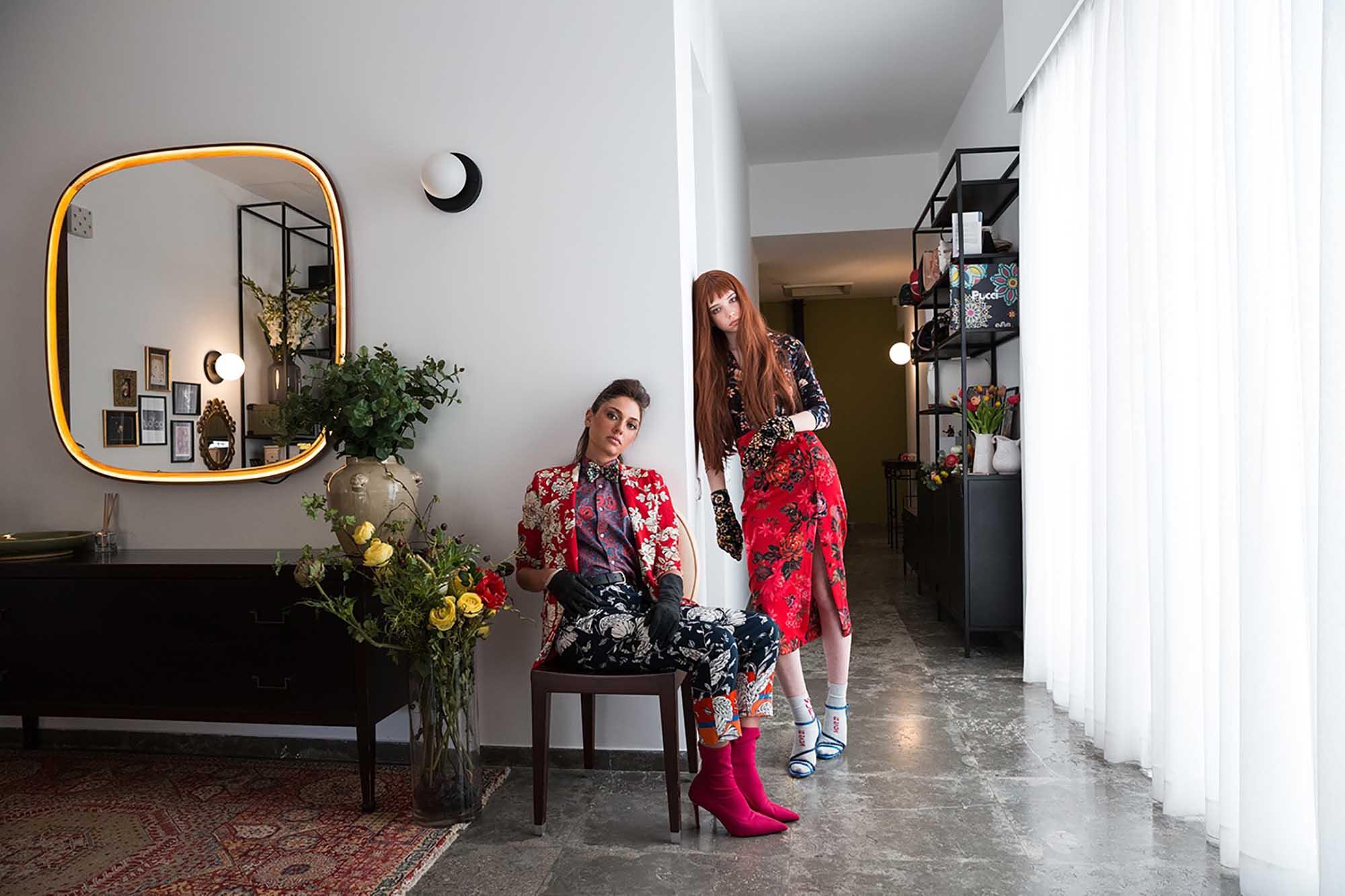 ירין שחף, הפקת אופנה, קרינה גרוזמן, שירה לכנר, מגזין אופנה -5