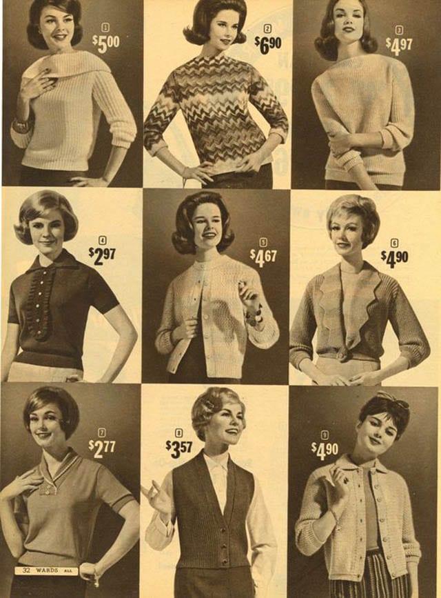 סגנוני חולצות נשים, אופנת נשים