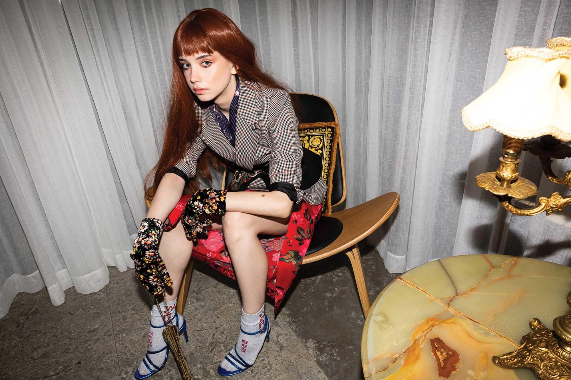 ירין שחף, הפקת אופנה, קרינה גרוזמן, שירה לכנר, מגזין אופנה -2