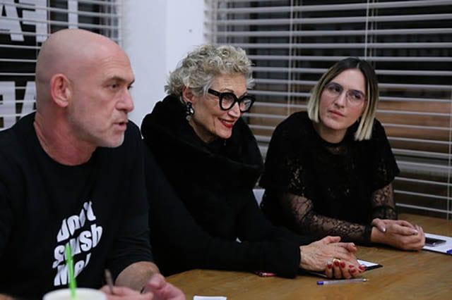 מוטי רייף, ריי שגב, שבוע האופנה תל אביב 2020
