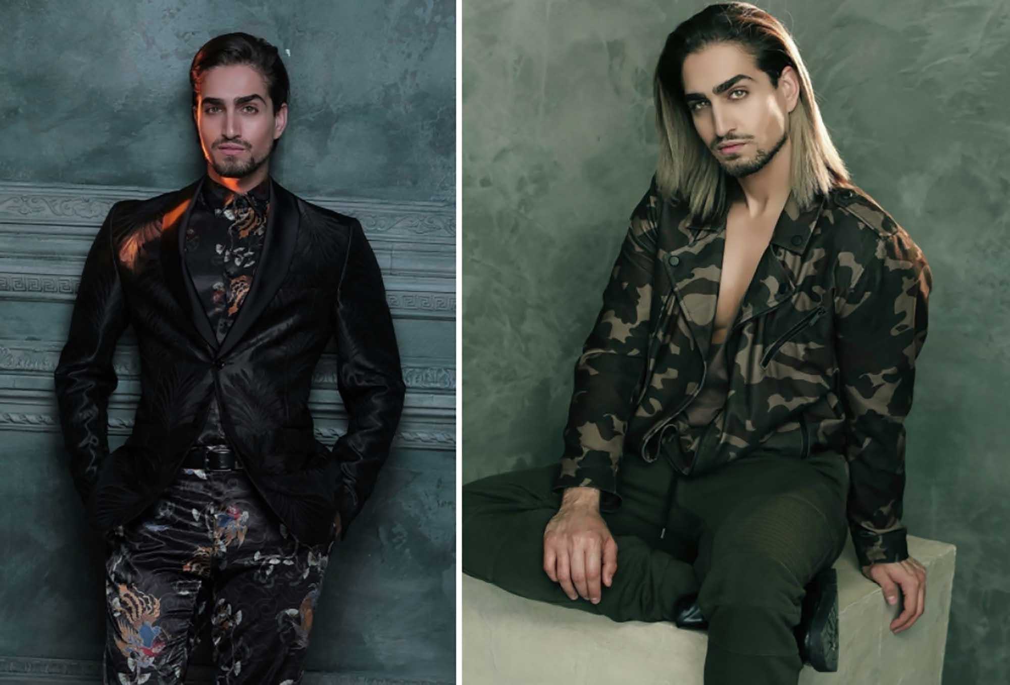 שון בלאיש. צילום: מאוריציו מונטני, מגזין אופנה - 12