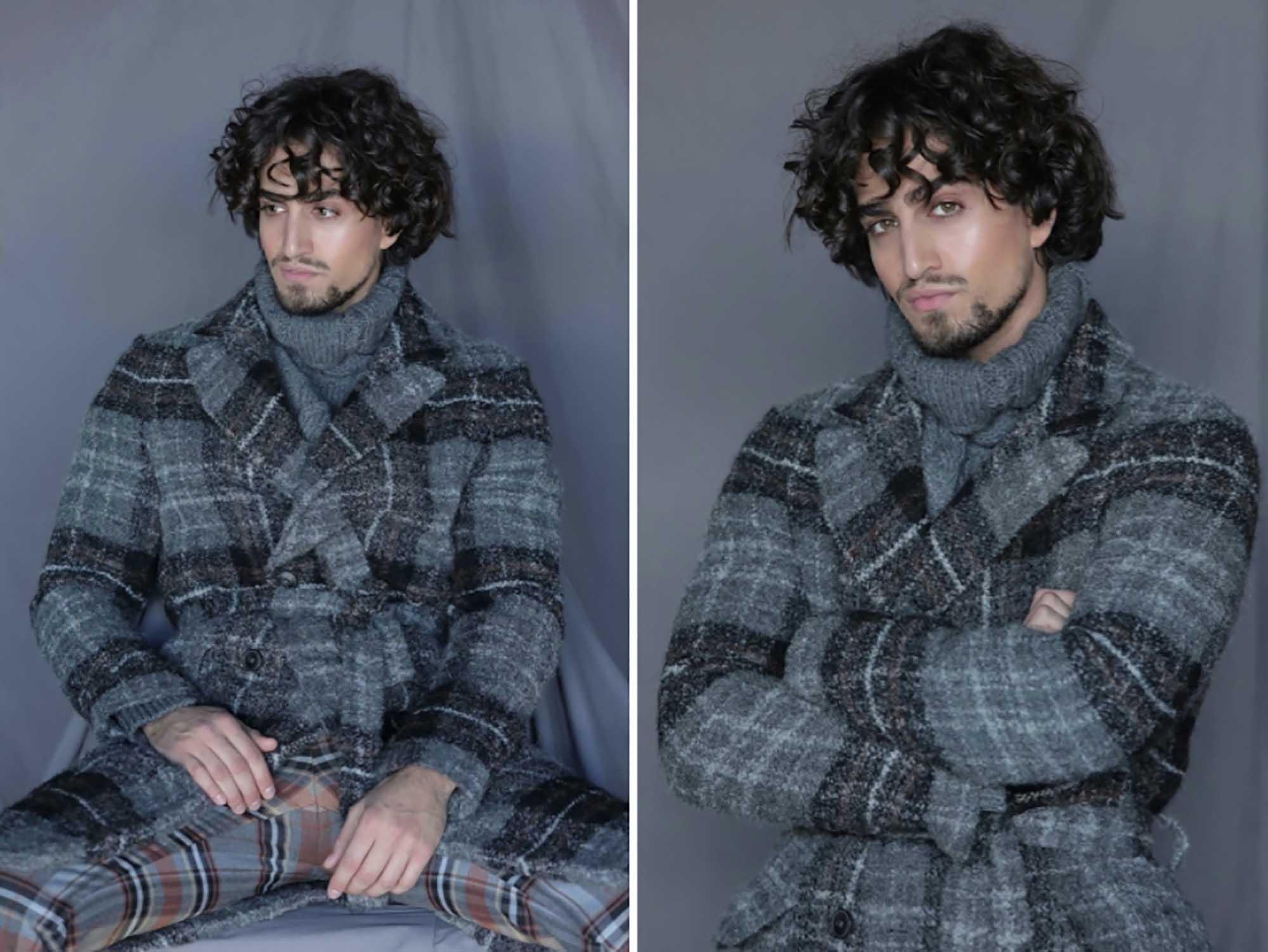 שון בלאיש. צילום: מאוריציו מונטני, מגזין אופנה - 10
