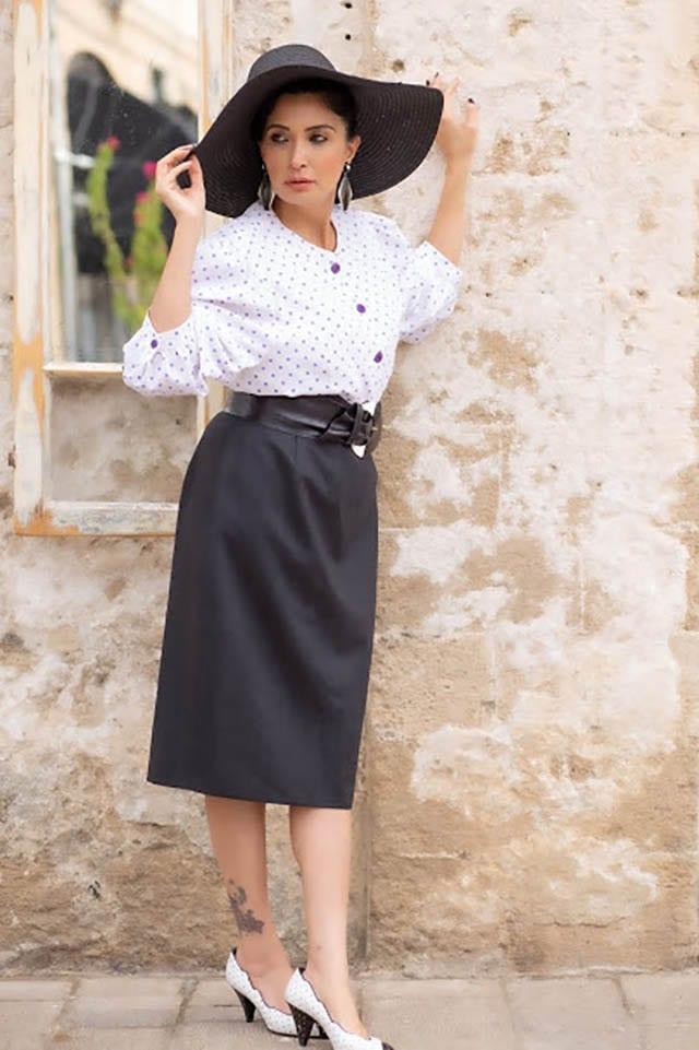 חולצה: לידיה מסינג יפו, מאיה אושרי כהן. צילום: Elom Gidon , אופנה