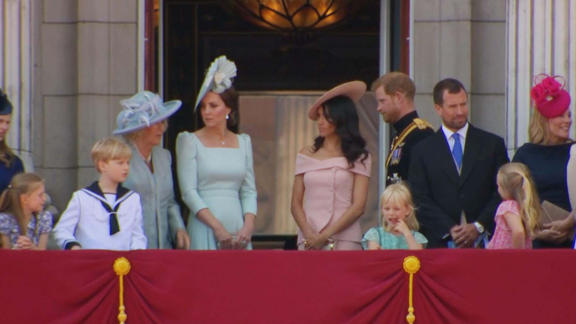 קיית מידלטון, הנסיך הארי, מייגן מרקל והמלכה אליזבת