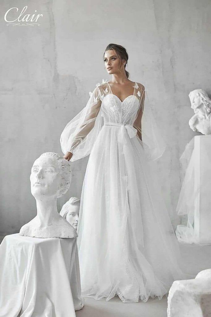 מריה מנור שמלות כלה, קלייר שמלות כלה, מגזין אופנה - 24
