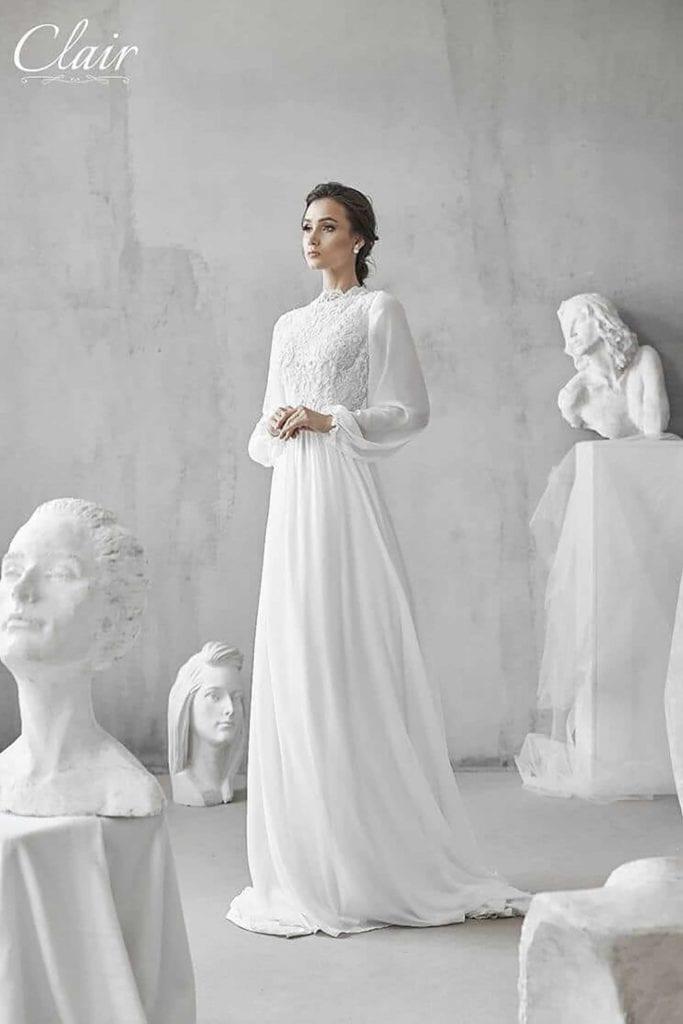 מריה מנור שמלות כלה, קלייר שמלות כלה, מגזין אופנה - 23