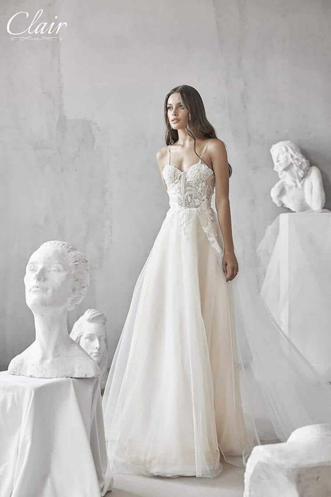 מריה מנור שמלות כלה, קלייר שמלות כלה, מגזין אופנה - 24111