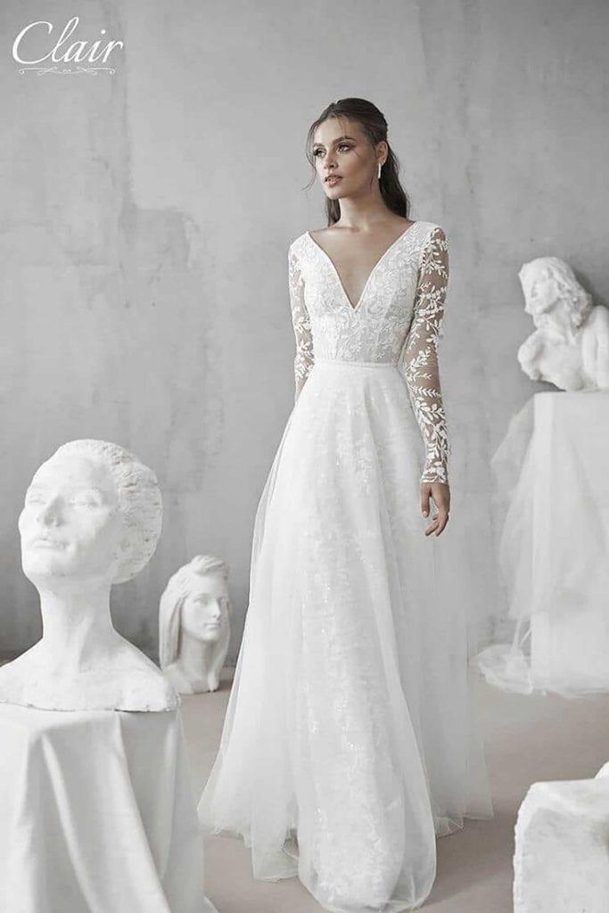 מריה מנור שמלות כלה, קלייר שמלות כלה, מגזין אופנה - 2499