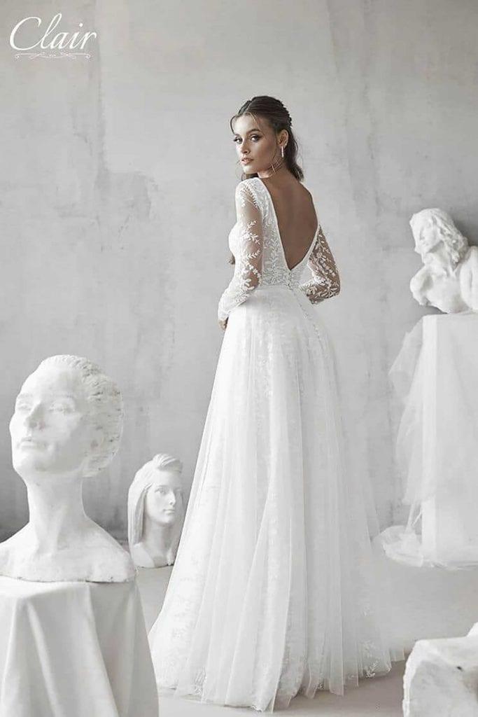 מריה מנור שמלות כלה, קלייר שמלות כלה, מגזין אופנה - 2488