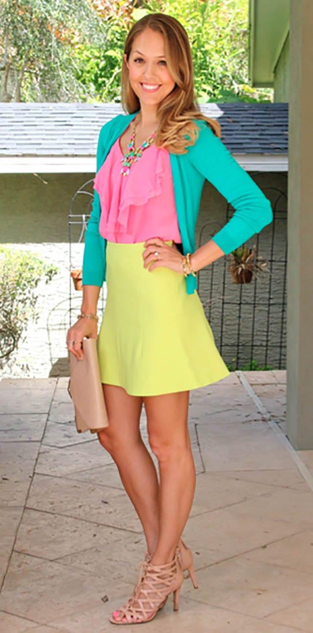 Today's Everyday Fashion_ The Citrus Skirt — J's Everyday Fashion, חדשות האופנה