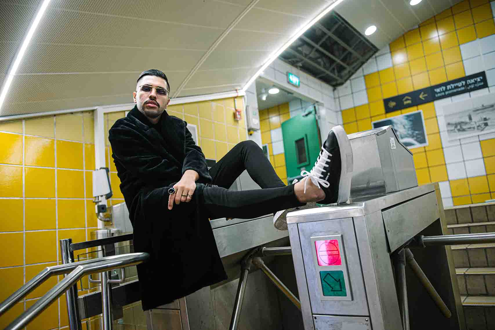 דניאל ציוני, צילום דניס גרצקיס , חדשות האופנה, מגזין אופנה ישראלי