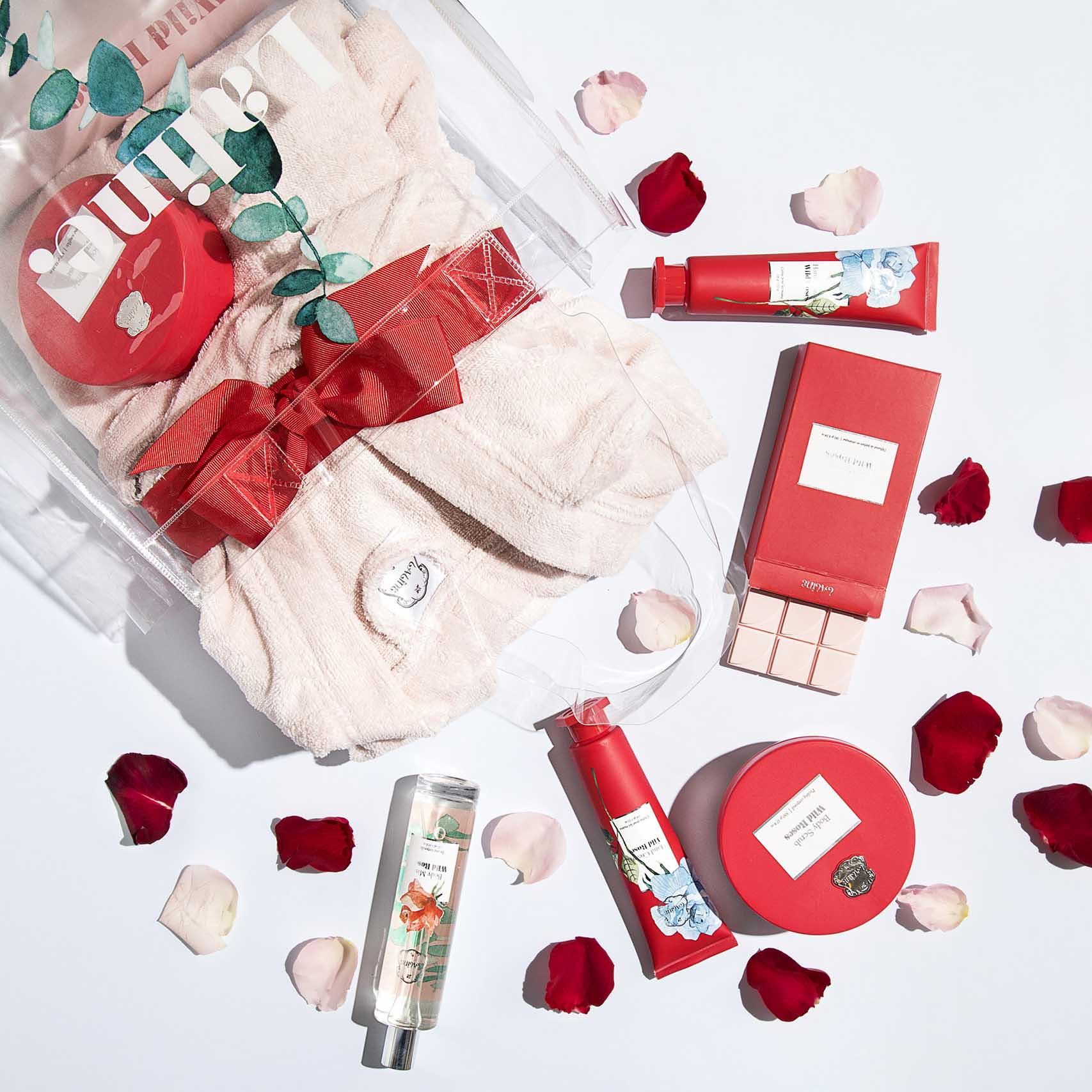 Valentine's Day 2020, ללין קולקציית WILD ROSES צילום תמוז רחמן-טיפוח העור