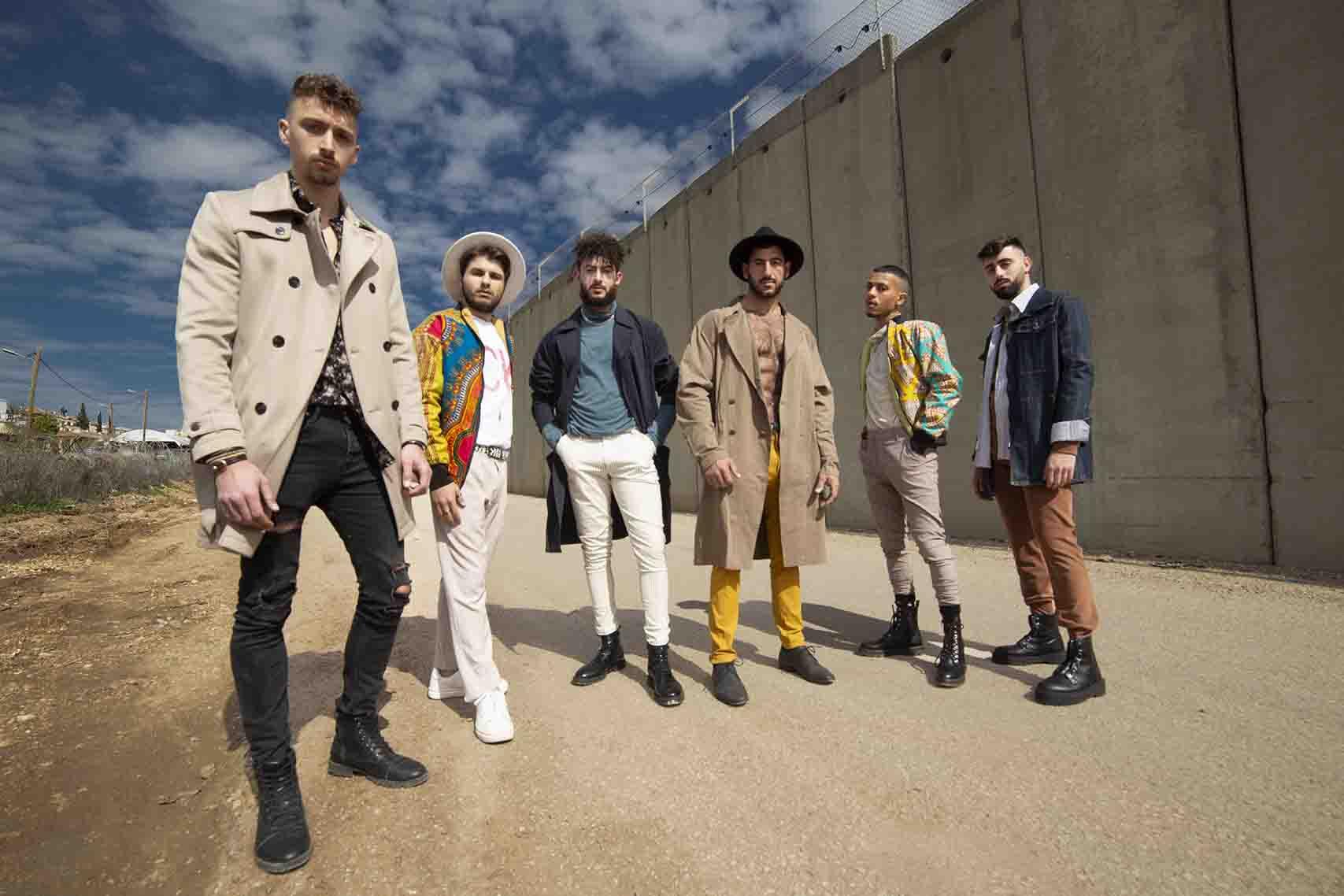 _מגזין_Nimer hHakim, Joun Safadi, Rock Mahmoud Hojerat, Elias Khourieh, Fadi Aneq, Hamudi Shalbi._אופנה