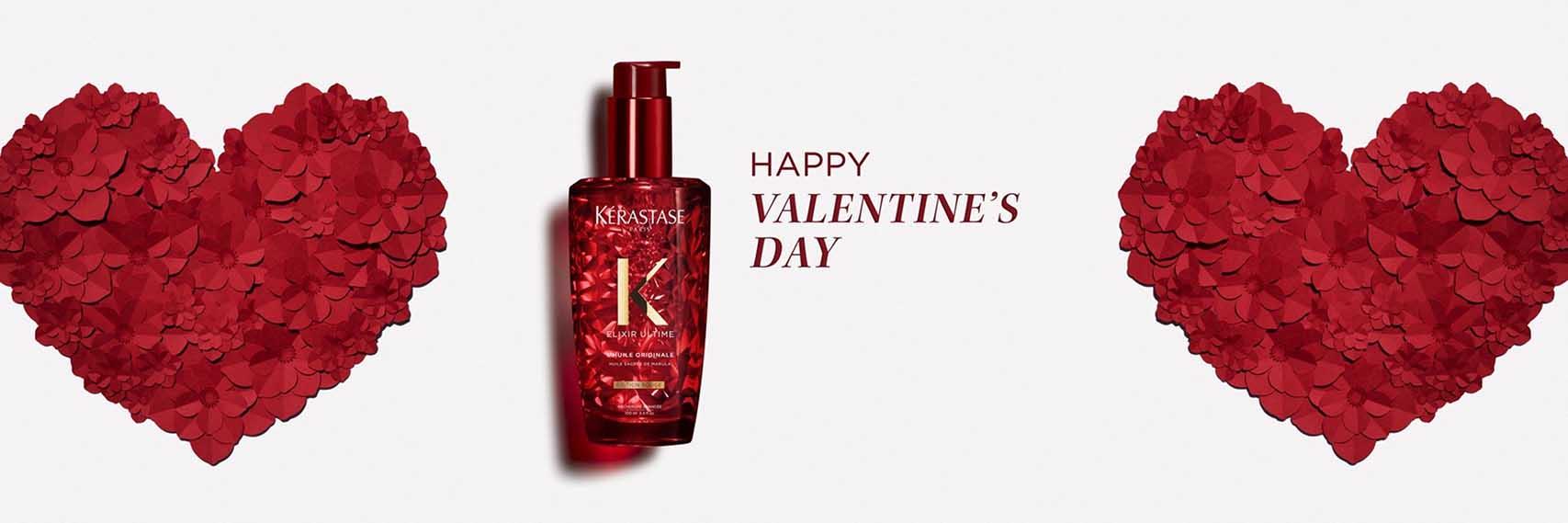 Valentine's Day 2020, קרסטס שמן לשיער אלקסיר אולטים באדום-1