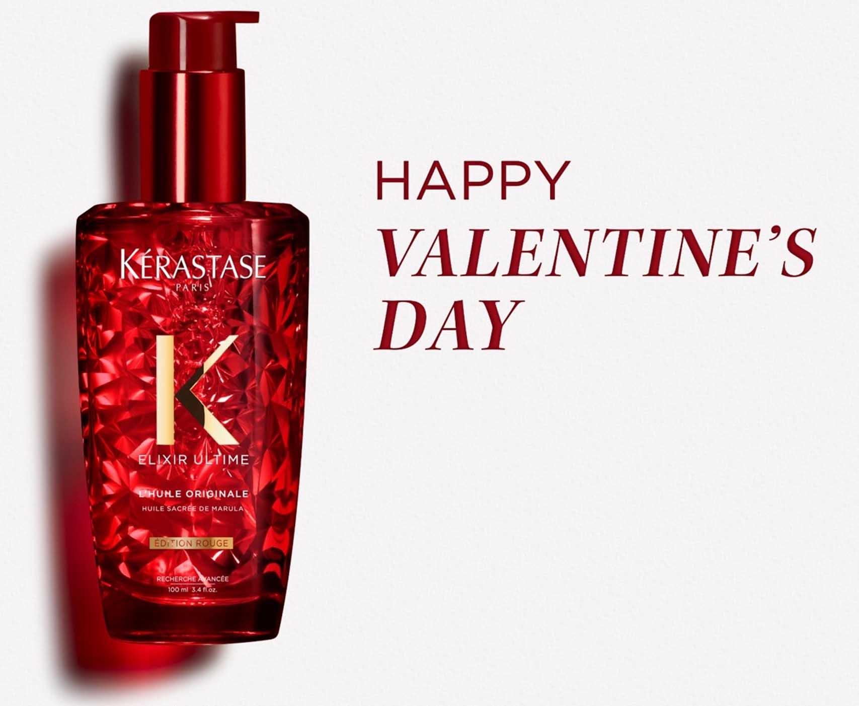 Valentine's Day 2020, קרסטס שמן לשיער אלקסיר אולטים באדום