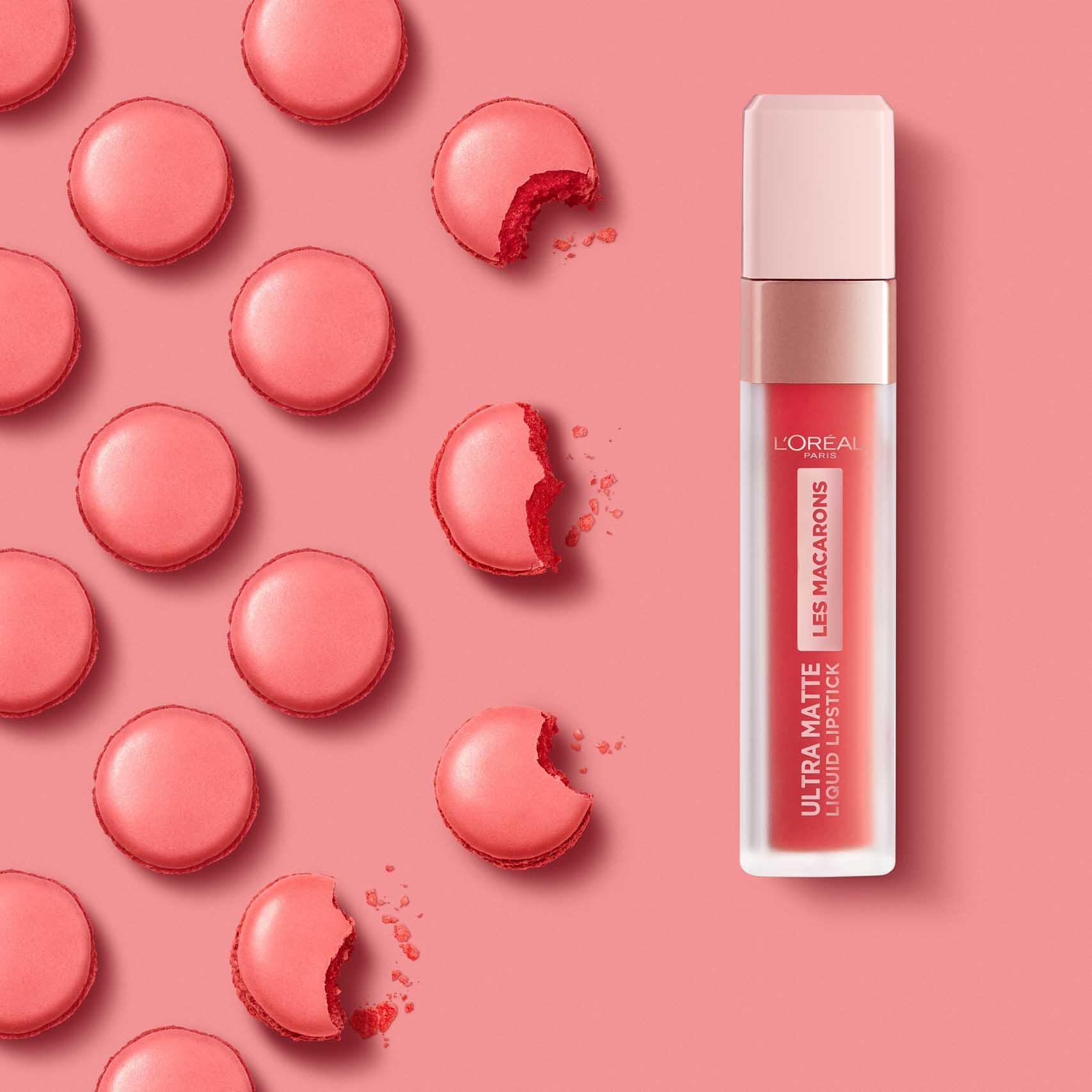 Valentine's Day 2020, לוריאל פריז שפתון לאש מקרון, שפתון נוזלי, איפור -2