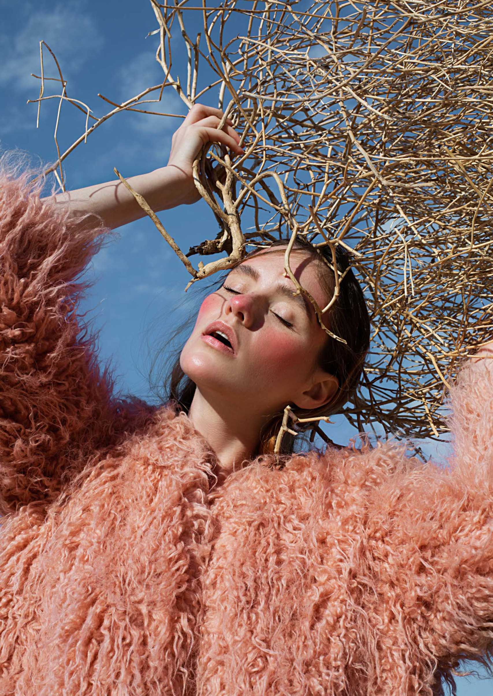 Editorial: Model and Makeup: Ann Smirnova, Photographer and Retoucher: Maria Soloviev, Fashion: H&M. מגזין אופנה ישראלי - Fashion Israel4