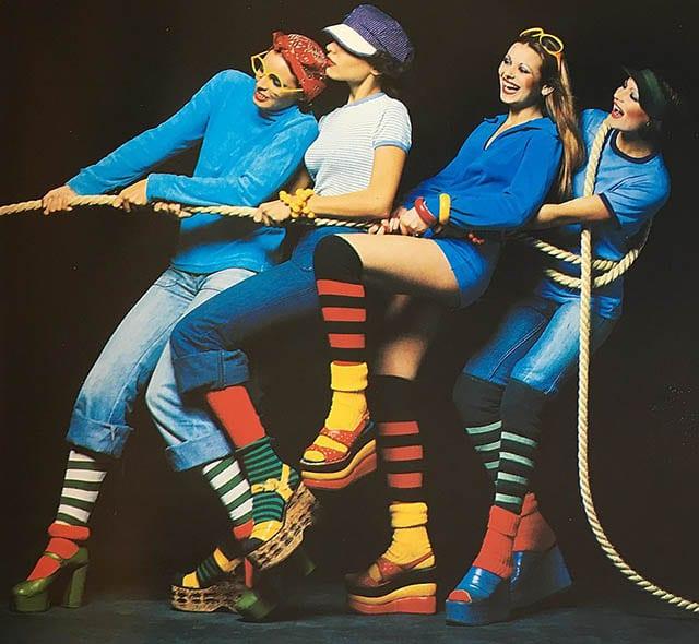 בגדי ספורט, שנות ה-80_מגזין אופנה