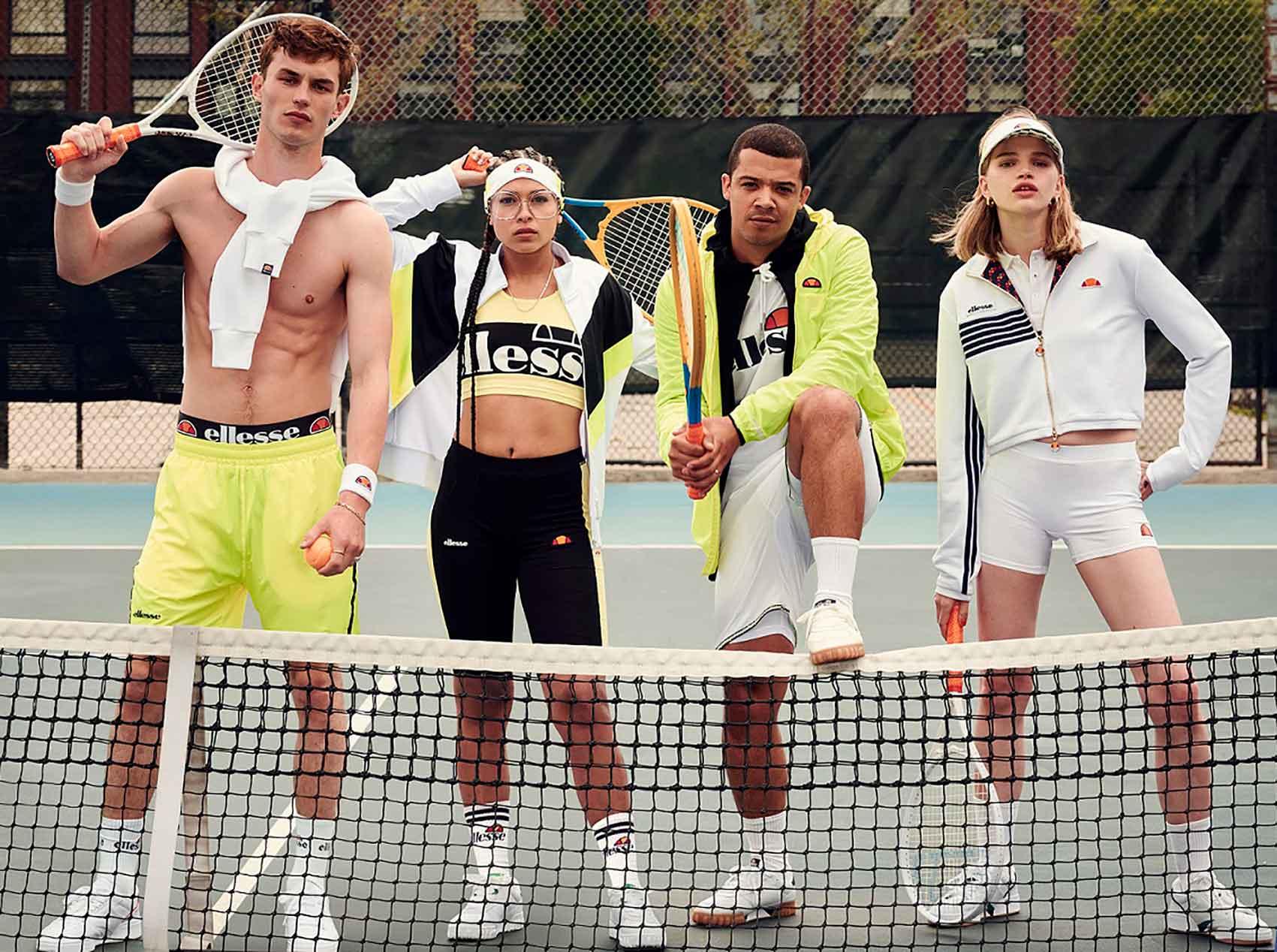 ELLESSE. מותג אופנה איטלקי משיק את קולקציית אביב קיץ 2020 ואתר רשמי בישראל
