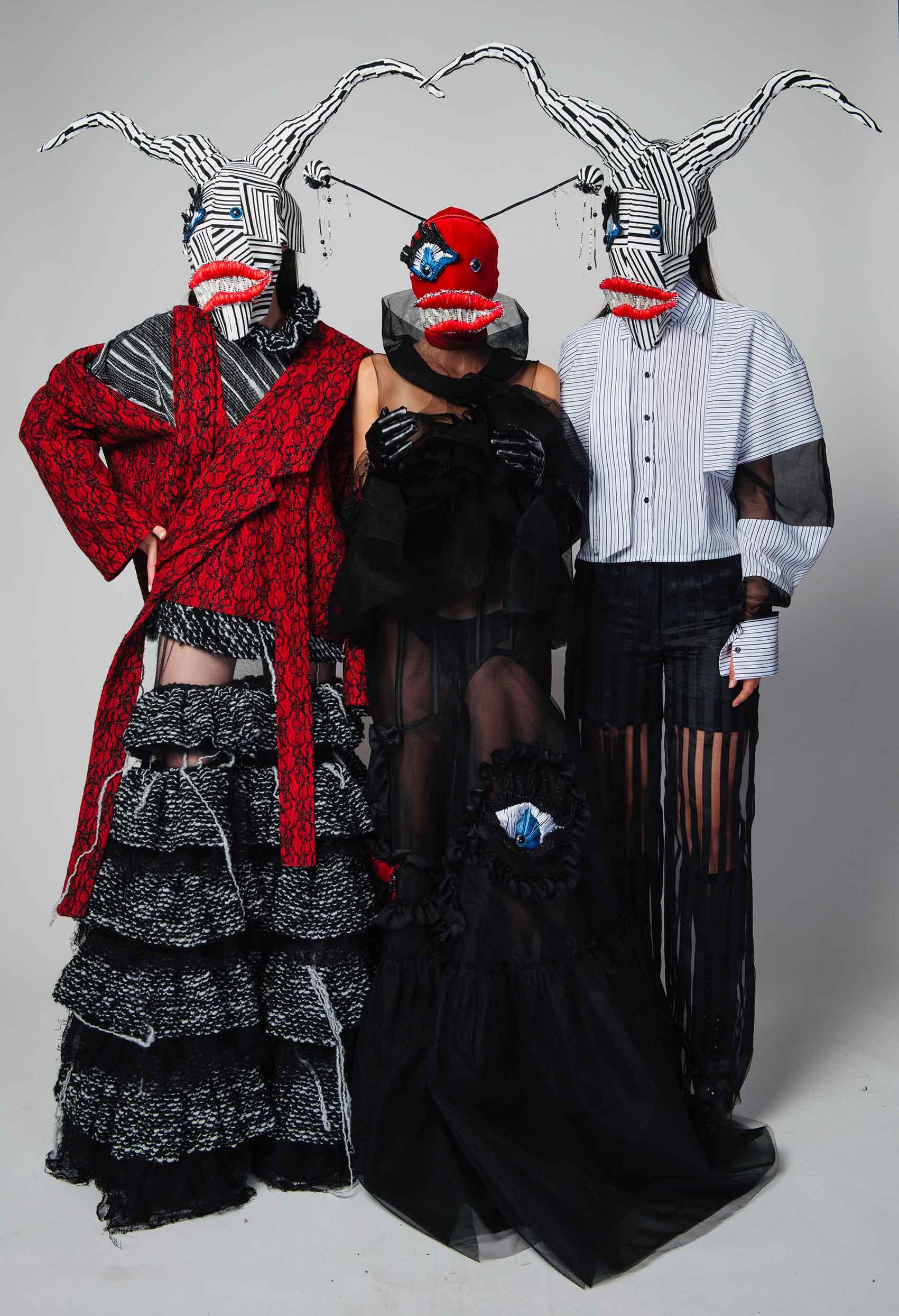 הפרעה נפשית - נטע אילוז, קולקציית גמר, ויצו חיפה, אופנה ישראלית