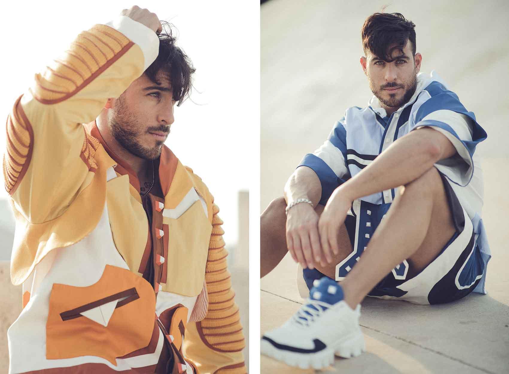 אייל ברקובר - Eyal Berkover, צילום: חן לוי - Chen Levi, מעצב אופנה: תומר סטולבוב - Tomer Stolbov-סטייל