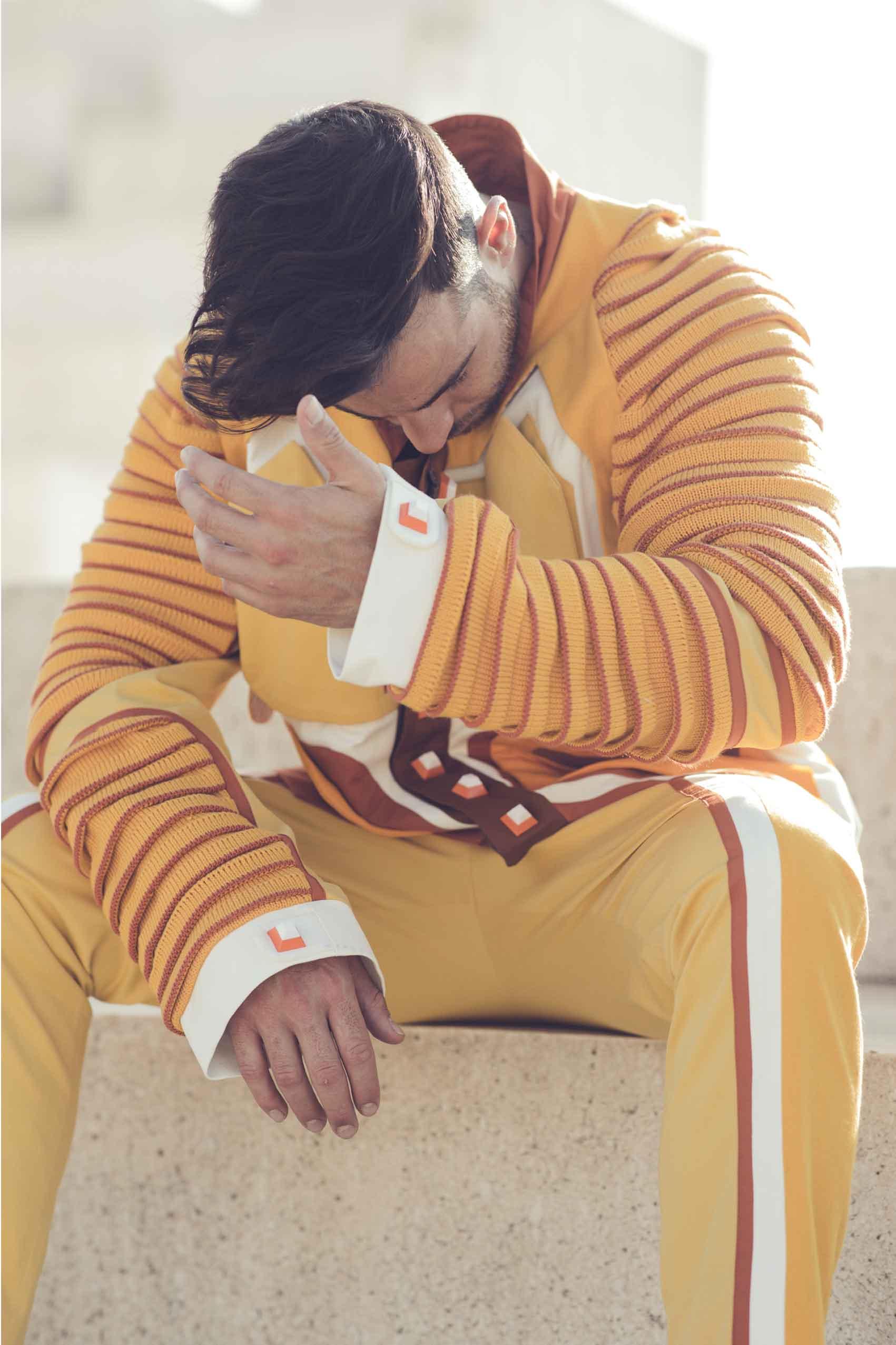 אייל ברקובר - Eyal Berkover, צילום: חן לוי - Chen Levi, מעצב אופנה: תומר סטולבוב - Tomer Stolbov-כתבות-אופנה
