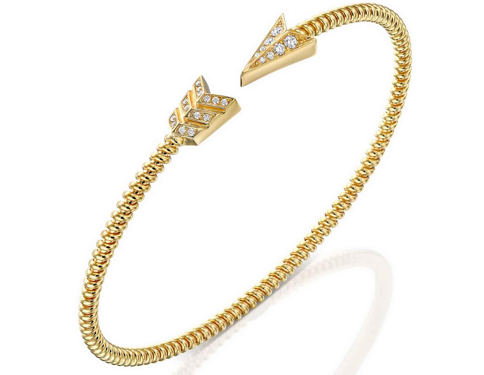 צמיד זהב של פדיני-אופנה