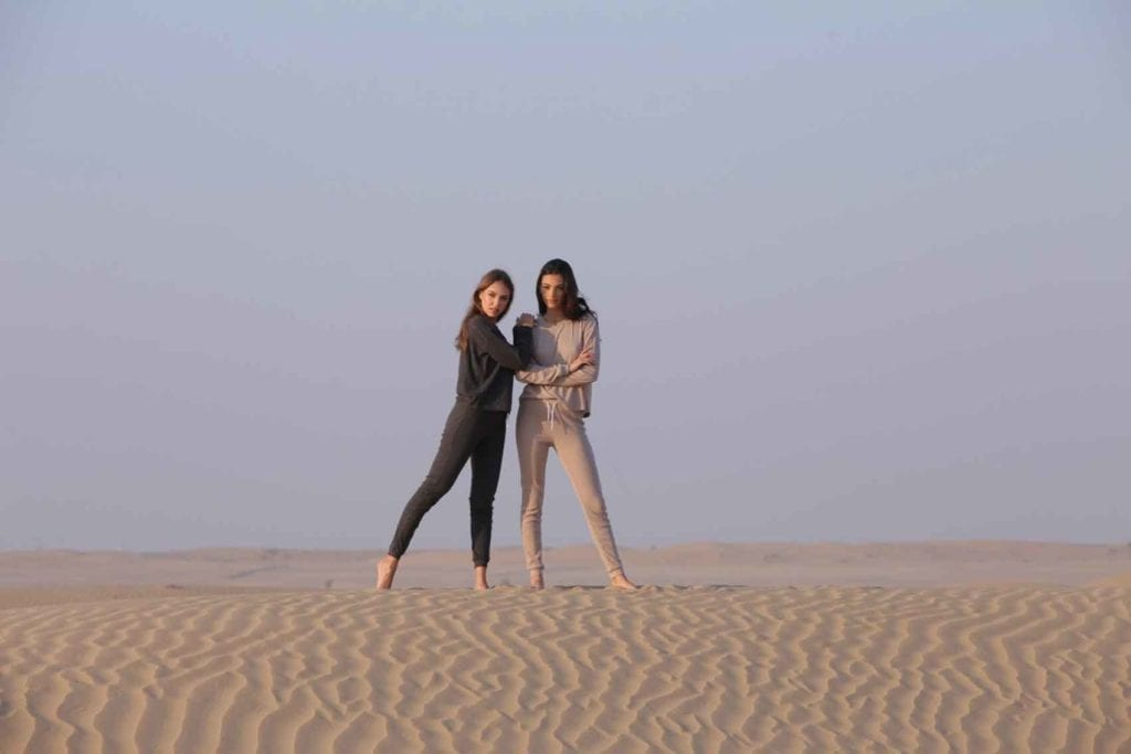 חדשות-האופנה-fix בדובאי. מאי תגר ו-Anastasia Bandarenka