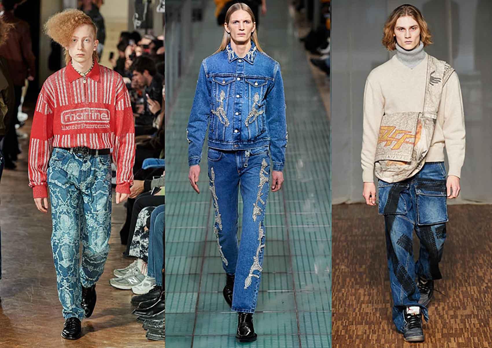 טרנדים-גברים-ג׳ינס-אופנה