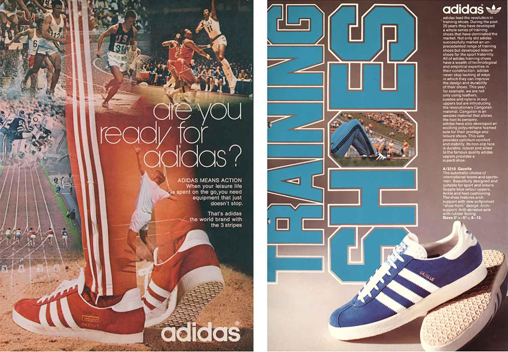 נעלי אדידס שנות ה-70-אופנה