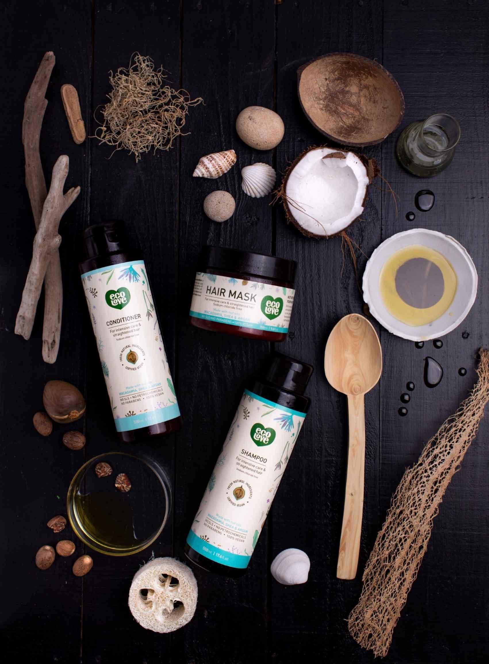 ecoLove-מוצרי-שיער-על בסיס-שמן-אגוזים-טיפוח