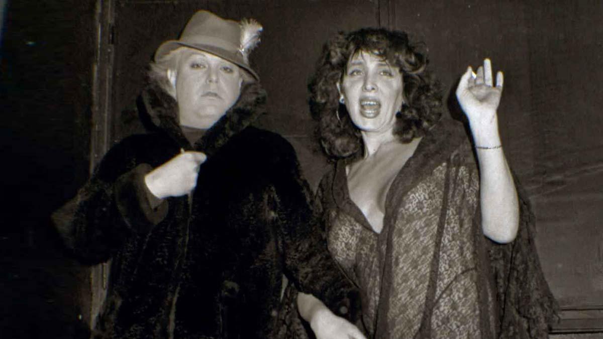 גילה-גולדשטיין-וזלמן-שושי-בקולנוע-דן-בתל-אביב-1984-צילום-אריאל-סמל