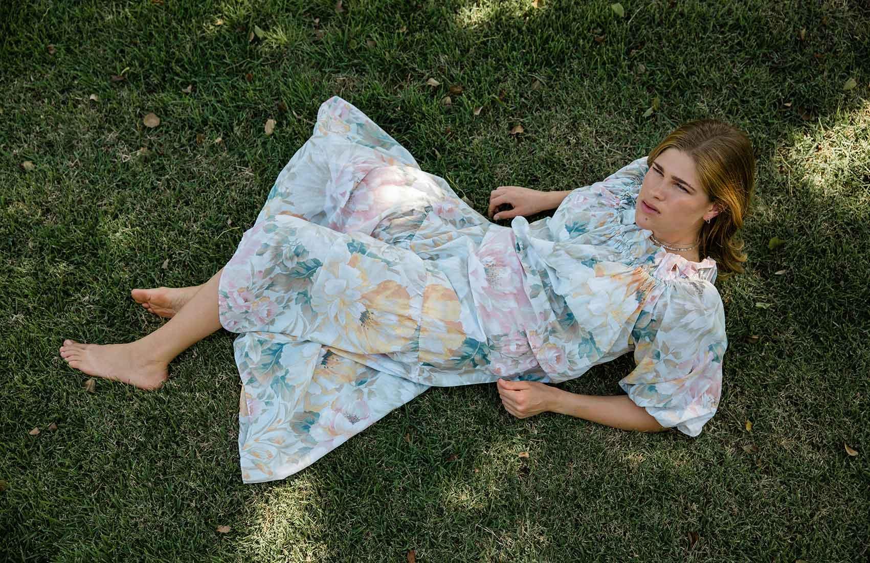 אופנה ישראלית-הפקת אופנה באווירה כפרית