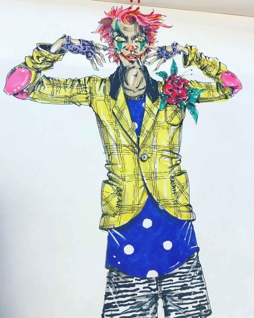 איורים של מאורסיו פולצ'ק לקולקציית ג'וקר-אופנה