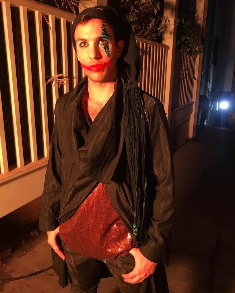 קולקציית אופנה-מאוריסיו פולצ׳ק, מתוך סט הצילומים לג׳וקר.
