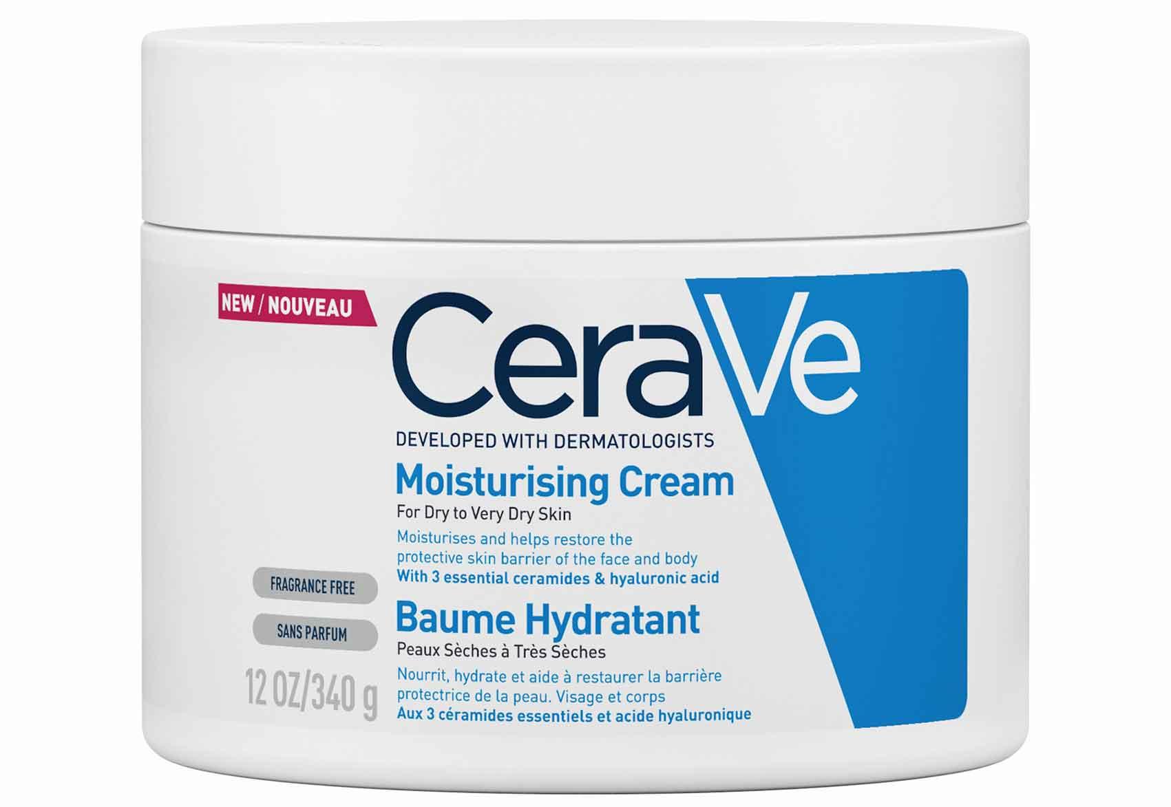 CERAVE - סרווה -קרם לחות לעור יבש עד יבש מאוד-טיפוח
