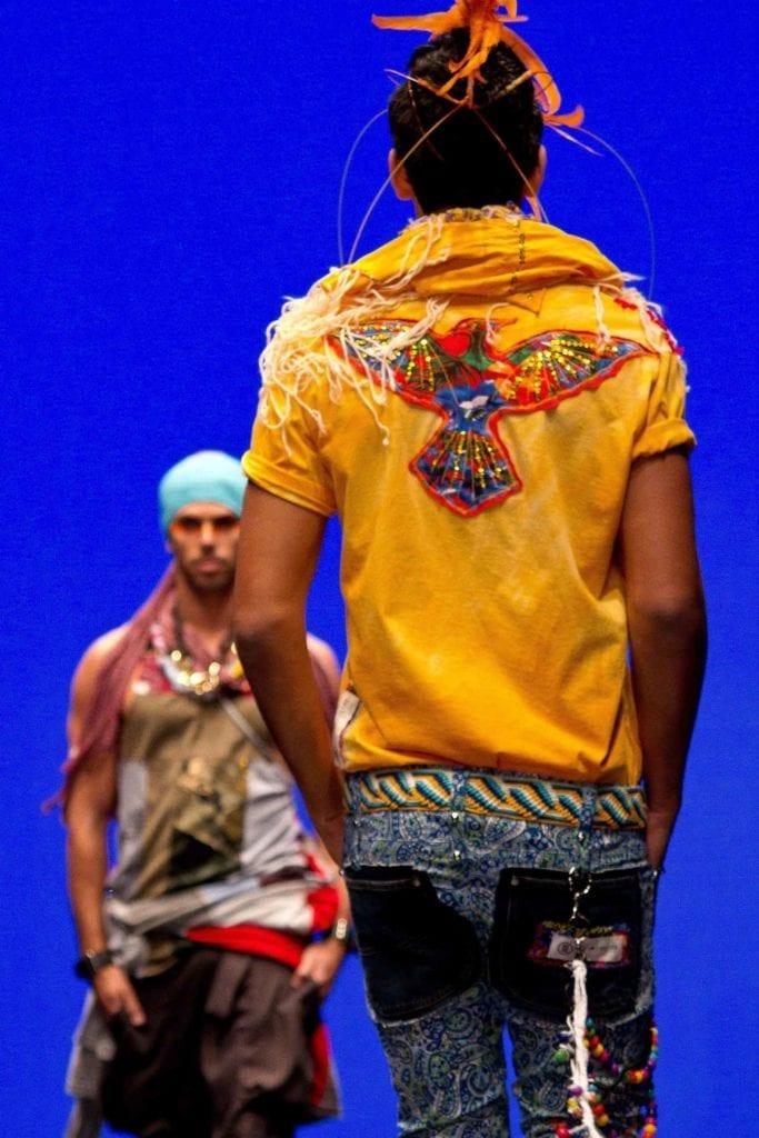 """אופנה-מאוריסיו פולצ'ק, תצוגה גברים ממוחזרת ראשונה בשבוע האופנה ת""""א"""