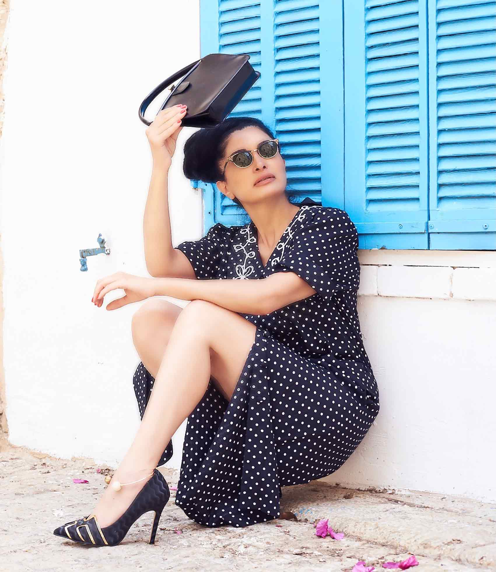 שמלת-פולקה-לוני-וינטג'-צילום-Kim-kandler---2-ופנה